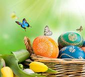 Easter still life — Stock Photo