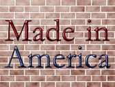 Made in America — Stock Photo