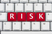 Risk of computer viruses, spyware and identity the theft — Stock Photo