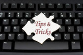 Tips and Tricks — Stock Photo