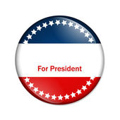 Ffor president button — Stock Photo