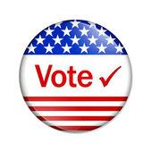 Vote button — Foto de Stock