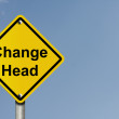 Change Ahead — Stock Photo #8697749