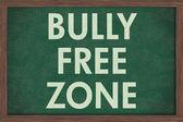 Bully Free Zone at schools — Stock Photo