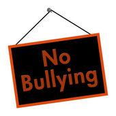 No Bullying Sign — Stock Photo