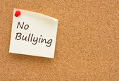 No bullying at schools — Stock Photo