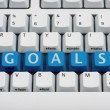 Stock Photo: Creating your Goals
