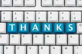 Thank you for shopping online — Foto Stock