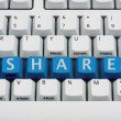 Stock Photo: Sharing your information