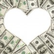 The love of money — Stock Photo #9127566