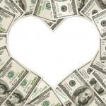 The love of money — Stock Photo