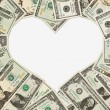 Stock Photo: Love of money
