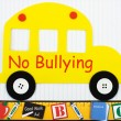 No bullying allowed — Stock Photo