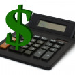 Calculating your finances — Stock Photo