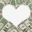 The love of money — Stockfoto