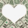 The love of money — Stock Photo #9266673