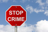 Stopping Crime — Stock Photo