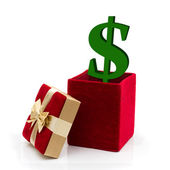 What to spend for a present — Stock Photo