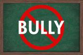 No bullying at schools — Stock Photo