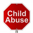 Stopping Child Abuse — Stock Photo