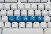 Learn online — Stock Photo