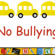 No bullying allowed - Stock Photo