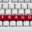 Internet Fraud — Stock Photo