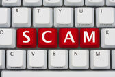 Internet Scams — Stock Photo