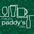 Royalty-Free Stock Vector Image: Happy Paddy's Day!