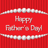 šťastný otec den! — Stock vektor