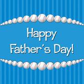 Szczęśliwy dzień ojca! — Wektor stockowy