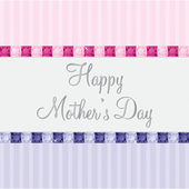 счастливый день матери — Cтоковый вектор