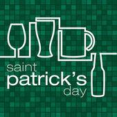 Happy Paddy's Day! — Stock vektor