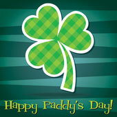 Happy Paddy's Day — Vector de stock