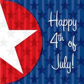 Happy 4th of juillet! — Vecteur