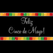 Cinco de Mayo chili greeting cards in vector format. — Stock Vector