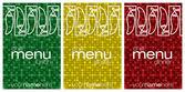 """""""Feliz Cinco de Mayo"""" (Happy 5th of May) chilli card in vector format. — Stock Vector"""