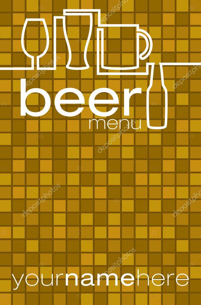 Beer menu in vector format Vector piccola 10267787 – Beer Menu