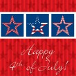 Happy 4th of July! — Stock Vector #10297782