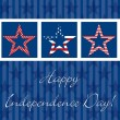 Happy 4th of July! - Stockvectorbeeld