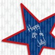 Happy 4th of July! - Stock Vector