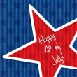 Happy 4th of July! — Vector de stock  #10298099