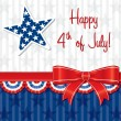 Happy 4th of July! — Vector de stock  #10299049