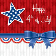 Happy 4th of July! — Vettoriale Stock #10299084
