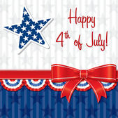 Happy 4th of July! — Stockvector
