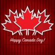 Happy Canada Day! — Stock Vector #10300376