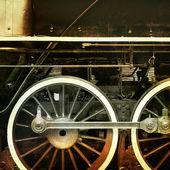 Старинный поезд — Стоковое фото
