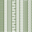 Royalty-Free Stock  : Motifs colored - patterns various