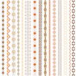 Royalty-Free Stock  : Various motifs colored