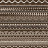 Texture avec ornements géométriques — Vecteur